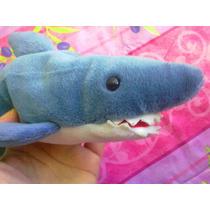 Tiburon De Peluche Marca Ty Beanie Babies