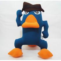 Perry El Ornitorrinco D Peluche Agente P Microperlas Phineas