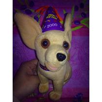 Taco Bell Peluche Perrito Con Sonido Vestido De Cumpleanos