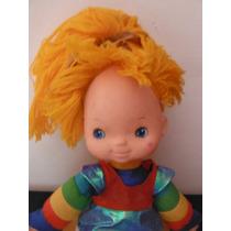 Peluche Rainbow Brite Doll Wisp Retro Vintage 1983 Hallmark