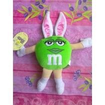 Mym Peluche De Chocolate Verde Con Disfraz De Conejo