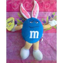 Mym Peluche De Chocolate Azul Vestido De Conejo