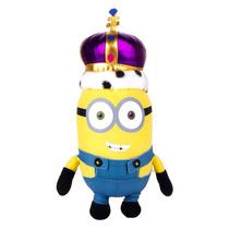 Kit Minions: Peluche Rey Bob > Bolsa De Regalo