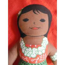 Peluche Niña Hawaiana Island Souvenir Ocean Tradicional Doll