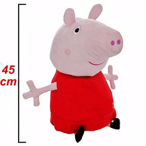 Peppa Pig De 45 Cm Peluche Grande Original 12 Msi Envio Grts