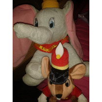 Peluches Dumbo Y Timoteo El Raton Disney Collecion