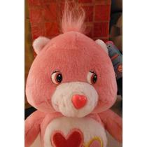 Peluche Care Bears Love A Lot Osito Cariñosito Rosa Pink