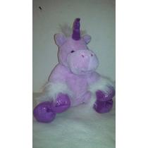 Unicornio Peluche Teddy Mountain 38cm Pony Caballo Fantasia