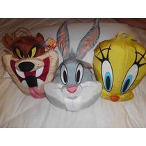 Looney Tunes Piolin,tazz ,bugs Bunny Los Tres $690.00 Mn4