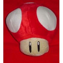 Hongo Gde De Mario Bros Peluche De Nintendo Ds