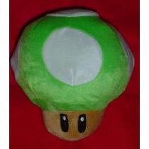 Hongo Verde De Mario Bros Peluche De Nintendo Ds