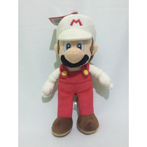 Peluche Original Mario Bros Fire De Nintendo