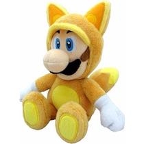 Super Mario Bros Plush Toy Kitsune Luigi Plush 7