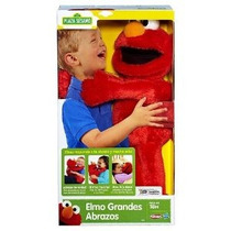 Playskool Elmo Abrazos Grandes De Plaza Sesamo (grandes Abra
