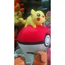 Pokebola Pikachu Peluche