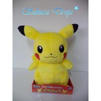 Peluche De Pikachu Takara Tomy Original - Japones