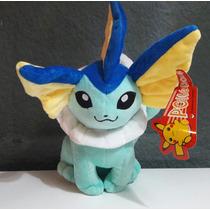 Vaporeon Peluche Pokemon Grande 30cm