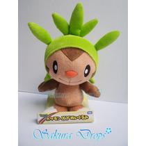 Peluche De Chespin Pokemon 20 Cm Aprox Takara Tomy Original