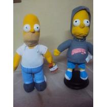 Bart Y Homero Simpson Pareja Originales $490.00