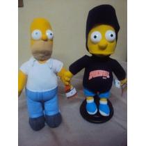Homero Y Bart Simpson Pareja Originales $490.00