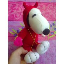 Snoopy Vestido De Diablito De Peluche