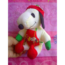 Snoopy Navideno De Peluche