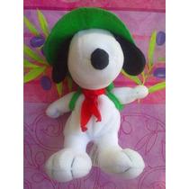 Snoopy Peluche Vestido De Explorador