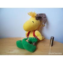 Peluche Woodstock Navideño 18 Cm Snoopy Hallmark Ca150