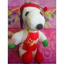 Snoopy Peluche Vestido Muy Invernal