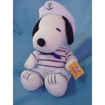 Snoopy Marinero Con Gorrita Como Popeye