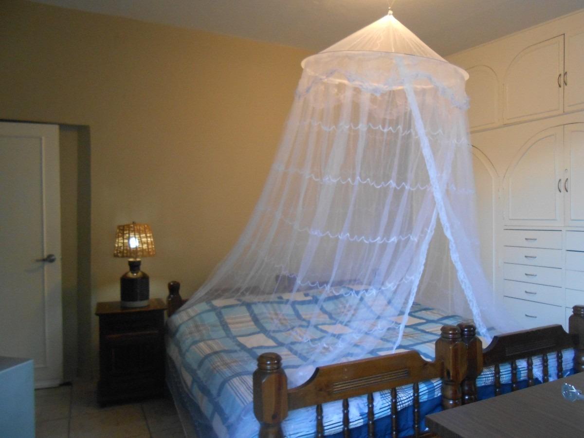 Pabellon mosquitero redondo en mercadolibre for Mosquiteras para camas