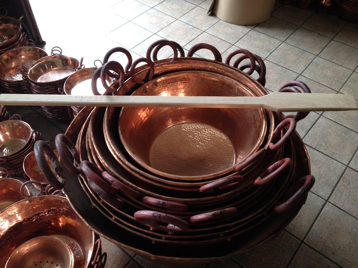 Pala de madera de encino blanco especial para carnitas - Cazuelas de cobre ...