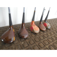 Set 5 Palos Fierro Driver Putters Golf Sounder Madera #4