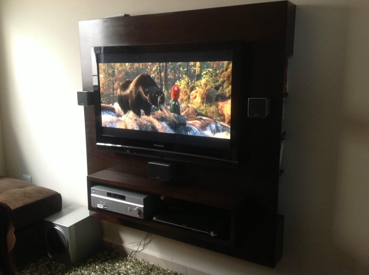 Mueble para tv de tablaroca for Mueble para dvd