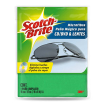 Paño Microfibra Para Limpiar Cd Dvd Lentes Scotch-brite 3m