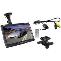 Pantalla Monitor 7 Lcd Para Auto Camara De Reversa Y Escala