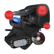 Cabecera Con Dvd Y Monitor Adicional Con Audio