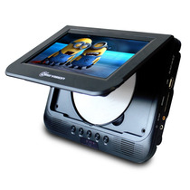 Dvd Portátil + Monitor Para Auto Doble Pantallaenvio Gratis