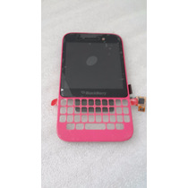 Pantalla Lcd Display Touch Blackberry Q5 Color Rosa Original