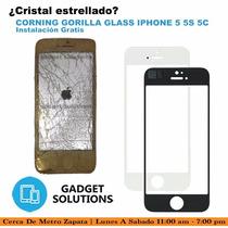 Reemplazo De Cristal Corning Gorilla Glass Iphone 5 5c 5s