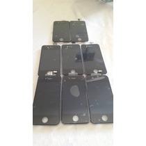 Lcd Pantalla Iphone 4s Para Modelos:a1431 A1387 Color Negro