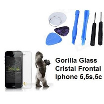 Iphone 5,5s,5c. Gorilla Glass / Cristal Frontal