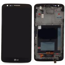 Pantalla + Touch + Marco Lg G2 D802 D805 Negro Nuevo Display