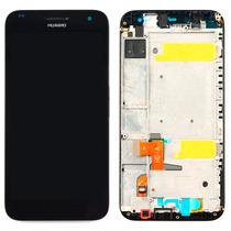 Pantalla Completa Display Lcd Touch Screen Huawei G7 Negro