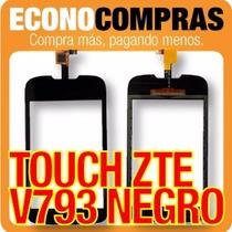 Pantalla Touchscreen Zte V793 Color Negro 100% Nuevo!!!!!!!!