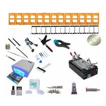 Kit Maquina Separadora D Pantalla Touch 17moldes 21cristales
