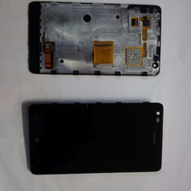 Pantalla Touch Nokia N900 Lumia Original Con Marco