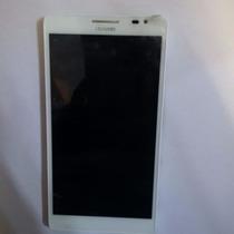 Pantalla Completa Huawei Mt1-u06 Blanca Original Con Marco