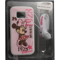 Caratula Silicon Original Minnie Mouse Nokia 5530