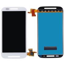 Touch Y Display Moto E Blanco Negro Xt1022 Excelente Calidad